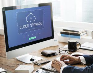 Cloud storage upload and download data management